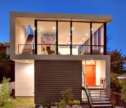 Casa decorada con bajo presupuesto for Mini casas modernas