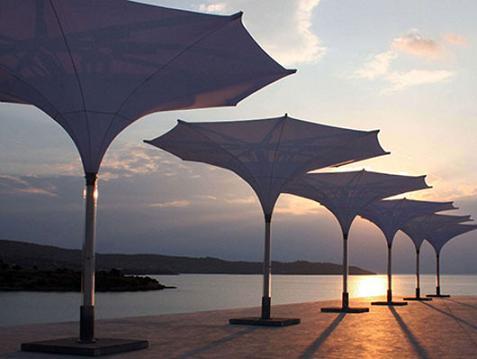estas sombrillas de la firma mdt son una autntica gozada son ideales para cualquier terraza pues estn disponibles en varios tamaos desde los cuatro - Sombrillas De Terraza