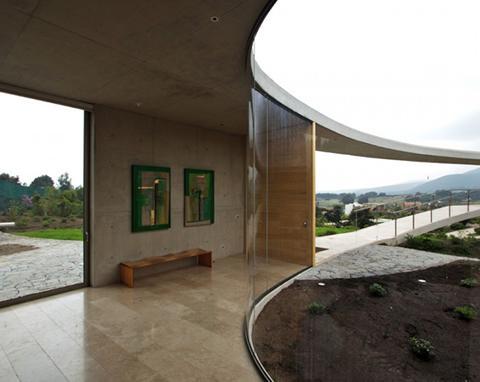 Cement Patio Design