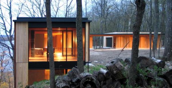 Casa r stica junto al green lake de wisconsin for Building a house in wisconsin
