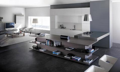 Decorablog revista de decoraci n for Cocinas con salon integrado
