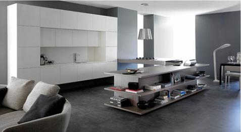 Cocina y sal n integrados for Cocinas con salon integrado