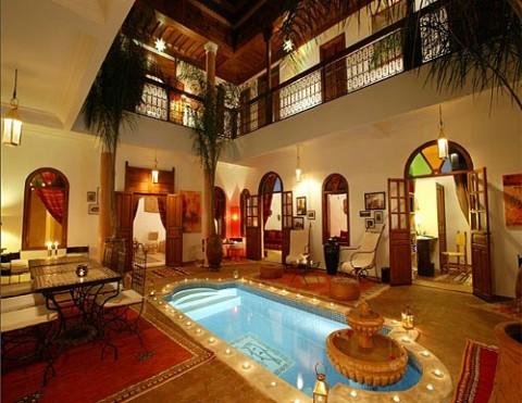 Casas de lujoespectacular casa de lujo en marruecos - Casas marroquies ...