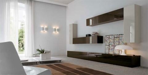 Salones minimalistas de dall 39 agnese - Salones minimalistas ikea ...