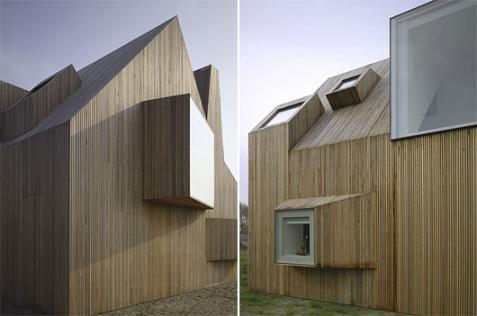 Casa de madera minimalista - Casas de madera minimalistas ...