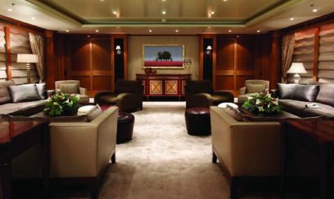Decoraci n para yates for Interior yates de lujo