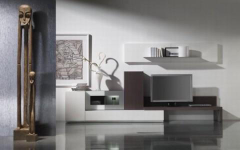 Modernos salones de c rculo muebles for Muebles salon diseno minimalista