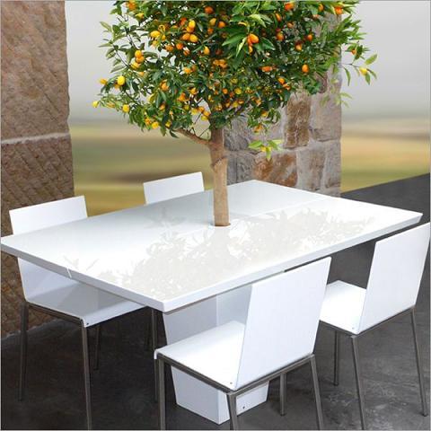 Mesa para el jard n de mezza style - Mesas para jardin ...