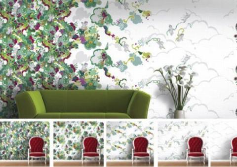 Papel pintado para las paredes - Papel decorativo para pared ...