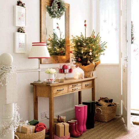Hogar y jardin ideas para decorar la casa en navidad - Ideas decorar navidad ...