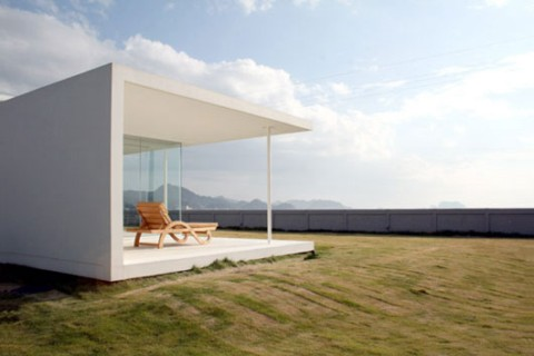 Casa minimalista en jap n for Casa minimalista japon