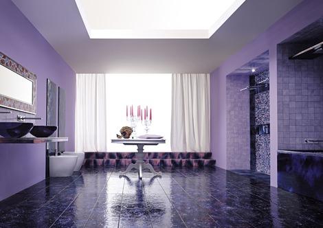 Color violeta en la decoración (tonos lilas o morados)