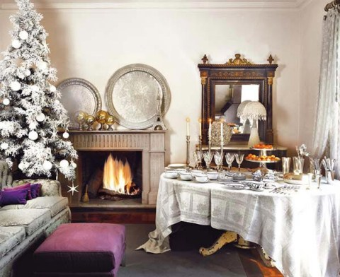 mesa navidad 1600x1200 Ideas para decorar la mesa de Navidad