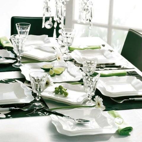 mesa navidad10 1600x1200 Ideas para decorar la mesa de Navidad