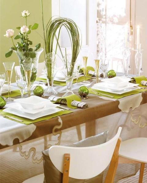 mesa navidad16 1600x1200 Ideas para decorar la mesa de Navidad