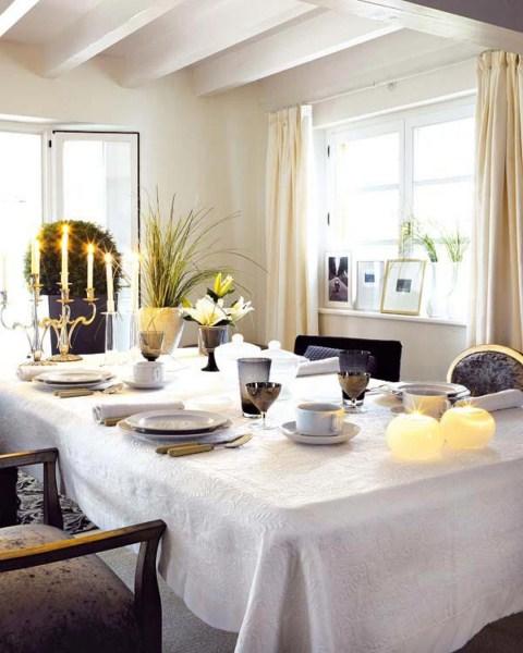 mesa navidad7 1600x1200 Ideas para decorar la mesa de Navidad