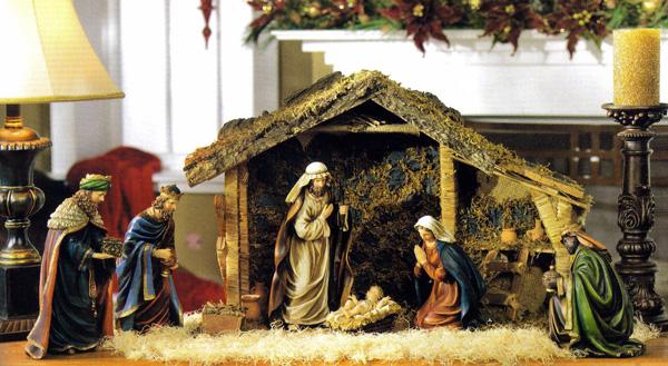 C mo hacer el pesebre - Casitas de nacimientos de navidad ...