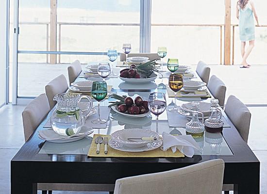 Decorablog revista de decoraci n - Como poner la mesa en navidad ...