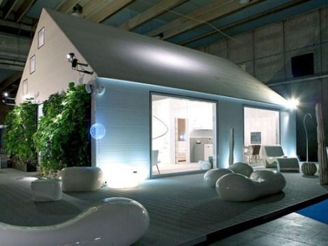 Moderna casa prefabricada - Casa prefabricada moderna ...
