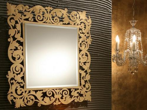 Espejos decorativos para el ba o de riflessi for Espejos decorativos bano