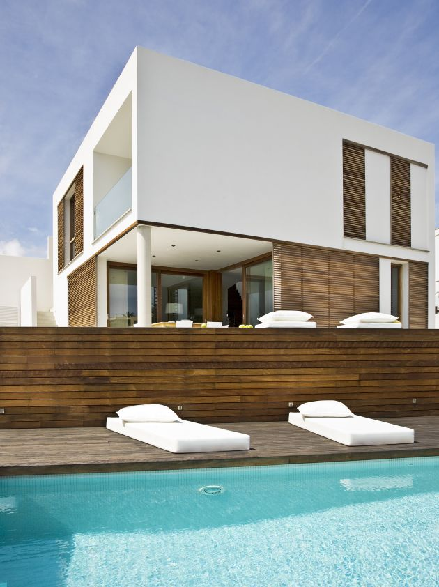 Casa minimalista en menorca for Design minimalista