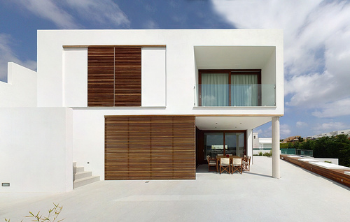 Casa minimalista en menorca for Minimalist house spain