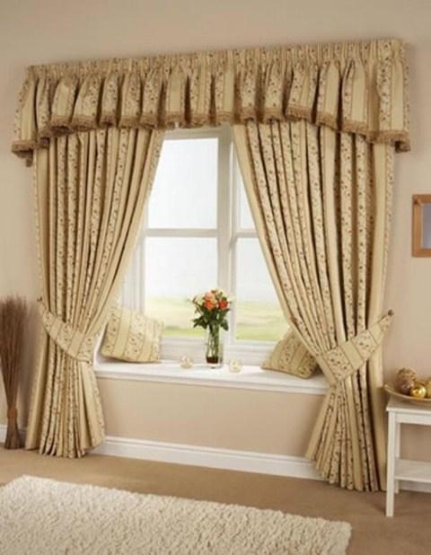Ejemplos de cortinas cl sicas - Cortinas de salon clasicas ...