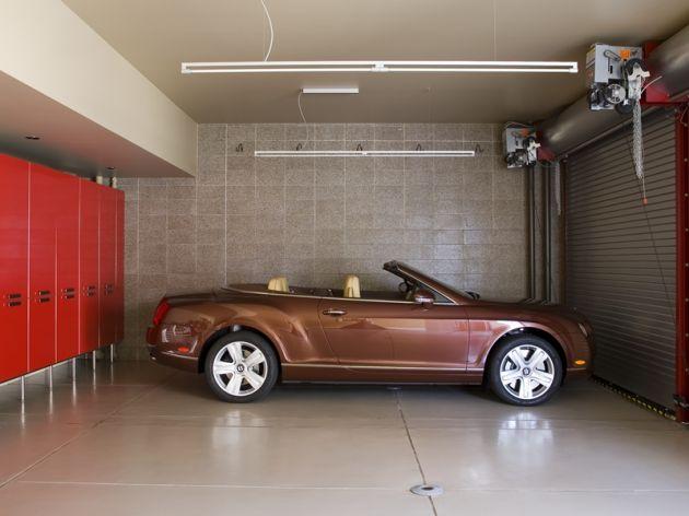 Внутренний дизайн гаража фото