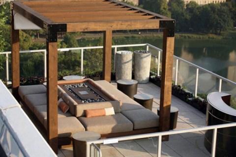 Ideas para la terraza for Terrazas modernas exterior