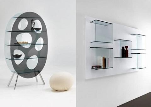 vitrinas de cristal: