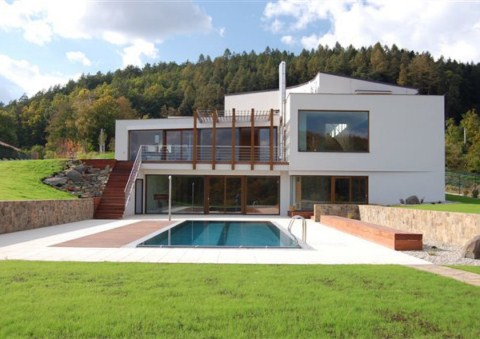 Casa de campo en la rep blica checa - Construccion casas de campo ...