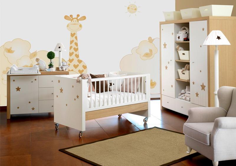 Decorar el cuarto del beb for Iluminacion habitacion bebe