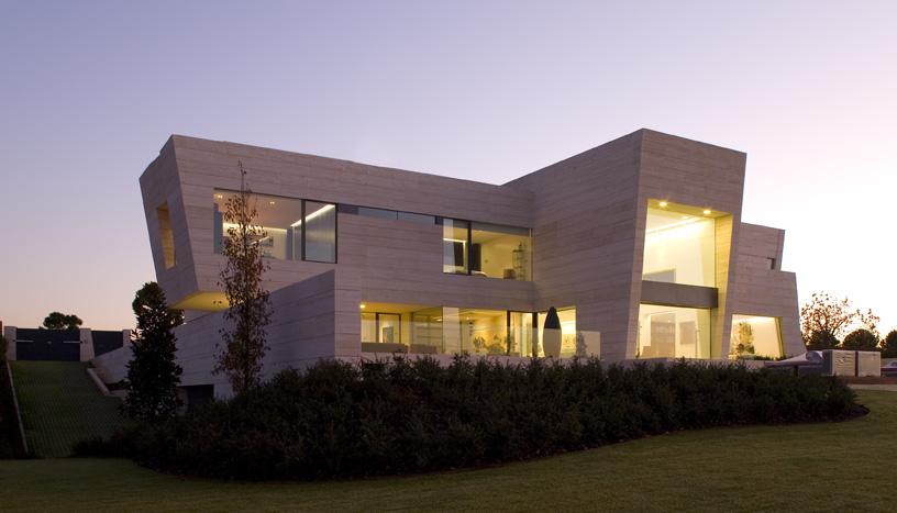 Casa de lujo en madrid por a cero - Casas modernas madrid ...
