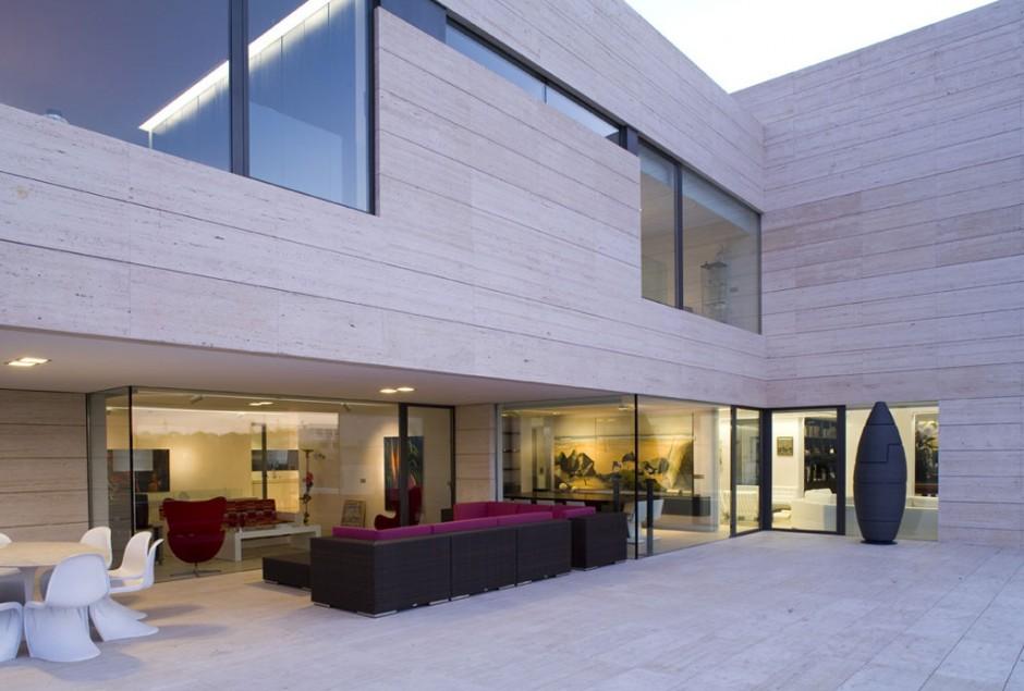 Casa de lujo en madrid por a cero for Casa de lujo minimalista y espectacular con piscina por a cero