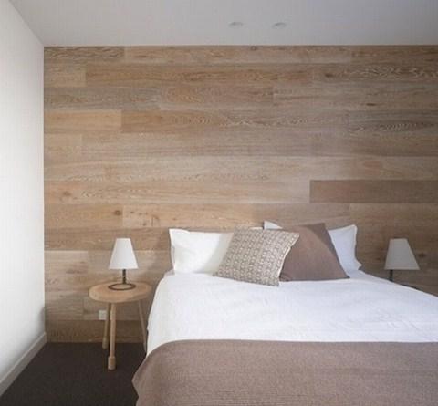Paredes de madera para el dormitorio - Decoracion de paredes en madera ...