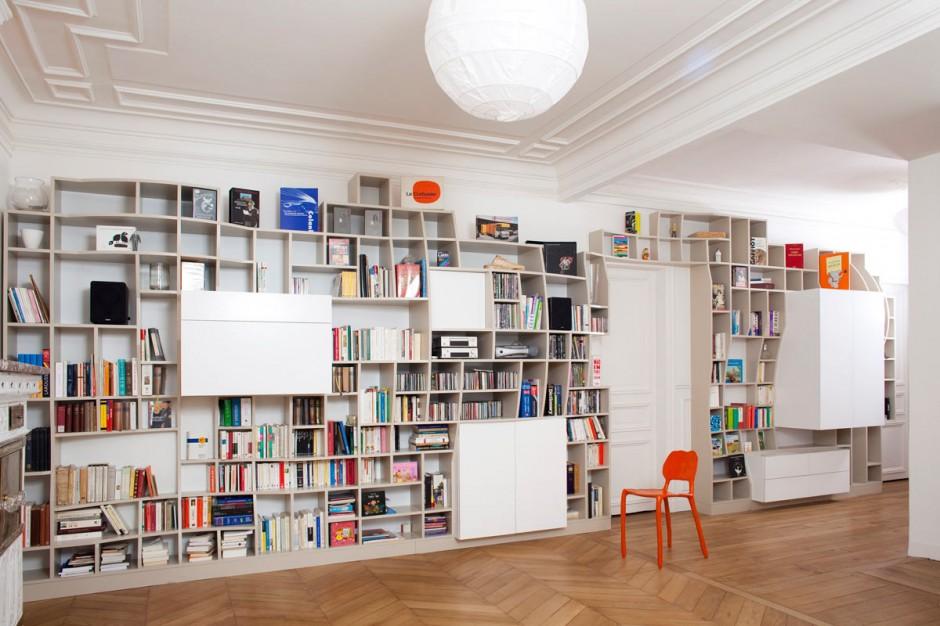 Decorablog revista de decoraci n for Estanterias para libros