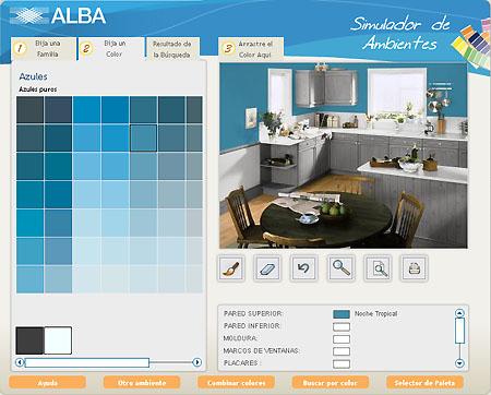 Simulador de ambientes para decorar - Simulador ambientes bruguer ...
