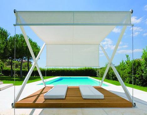 P rgola minimalista para exteriores - Pergolas para jardin baratas ...