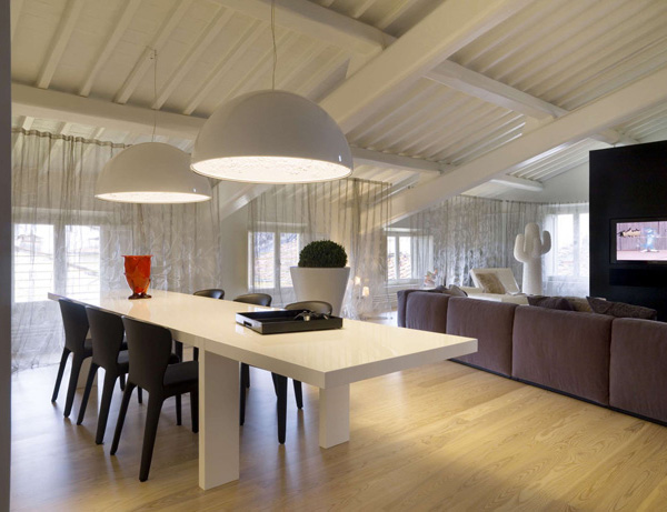 Diseño de interiores clásico contemporáneo