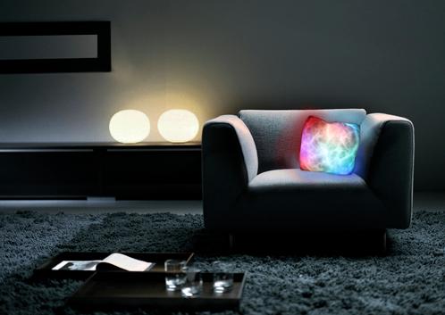 cojin luminoso colores Cojín luminoso de colores