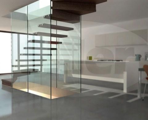 Escaleras de vidrio de siller - Escaleras de vidrio ...