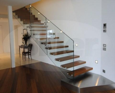 Escaleras de vidrio de siller for Modelos de escaleras