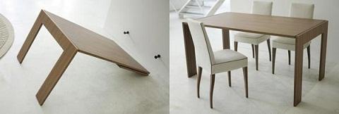 Espejo que se convierte en mesa for Mueble que se convierte en mesa
