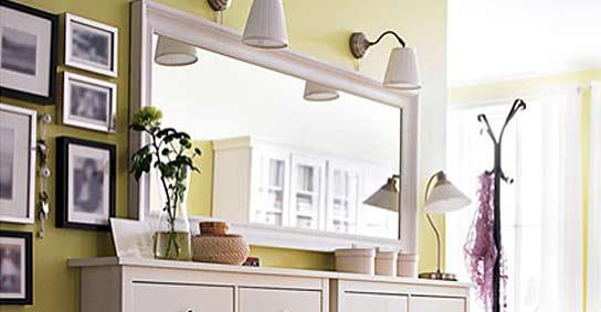 Los espejos pueden multiplicar la luz for Espejos pared salon