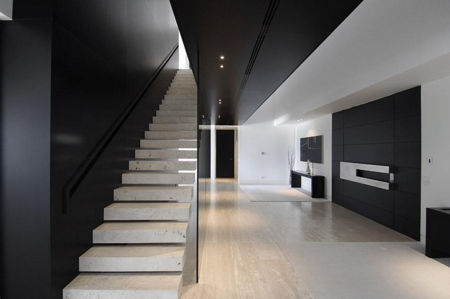 Vivienda 19 de lujo de a cero for Lujo interiores minimalistas