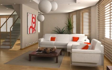 Fotos de interiores modernos decorados for Departamentos pequenos modernos decorados