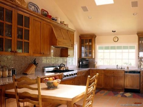 Интерьер кухни для частного дома фото