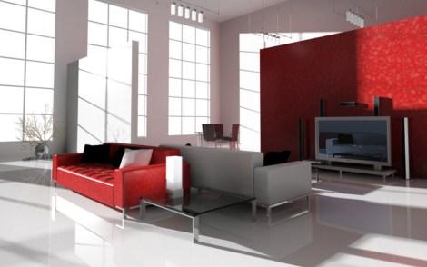 Fotos de interiores modernos decorados for Ver pisos decorados