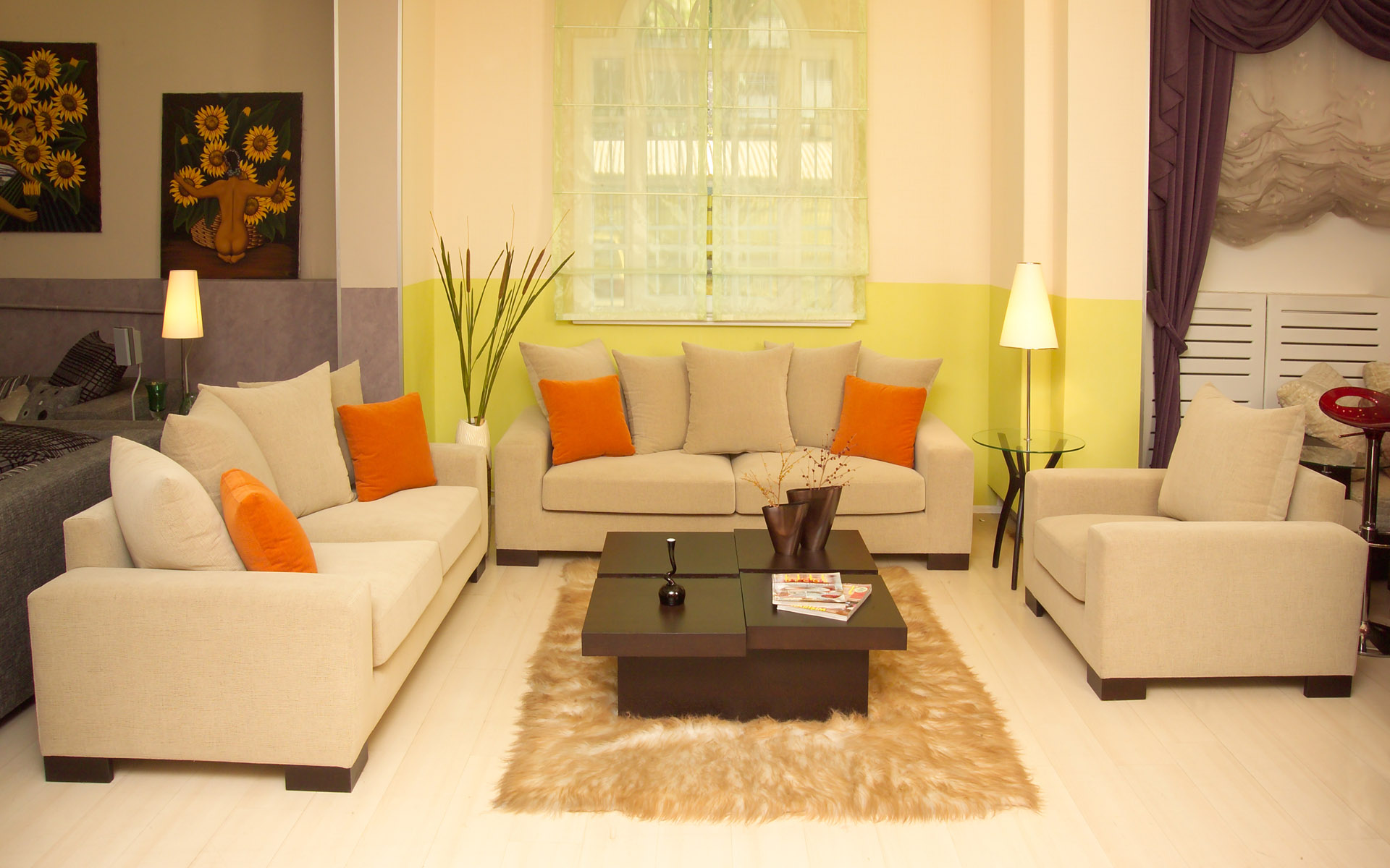 Fotos De Interiores Modernos Decorados ~ Formas De Pintar Paredes Interiores