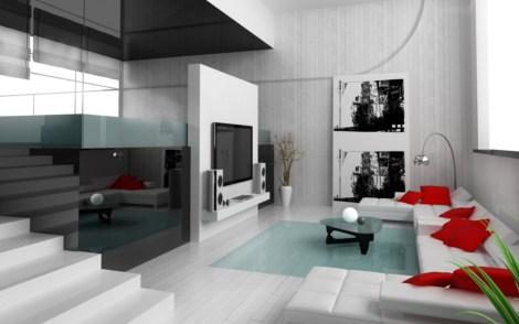 interiores modernos 6 min Fotos de interiores modernos decorados